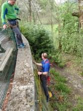 New traverse wall at Oakladns!