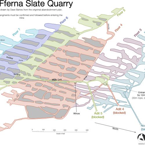 Moel Fferna Mine Plan