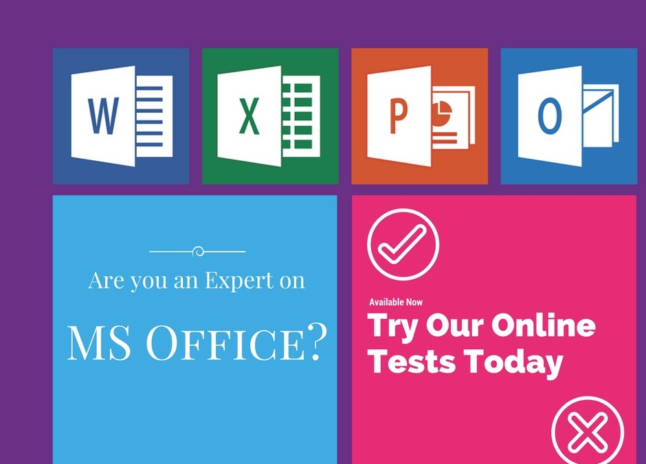 Microsoft Office online tests