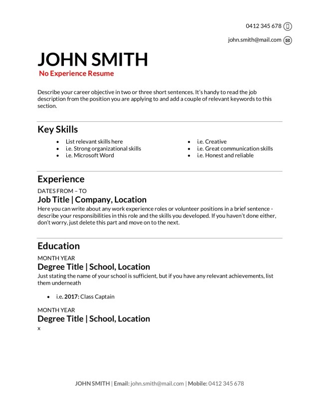 Free Resume Templates [Download]: How to Write a Resume in 27