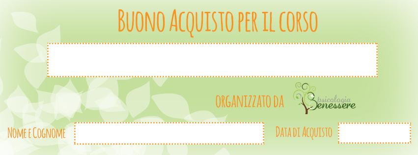 Buono Acquisto Corsi Rilassamento di Psicologia Benessere Torino