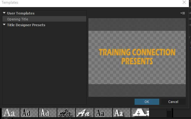 creating ppro title templates adobe premiere pro. creating text ...