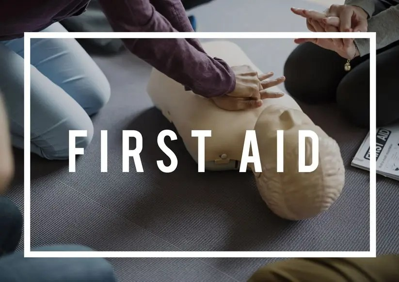 First Aid at Work Course Level 3 - 3 day course