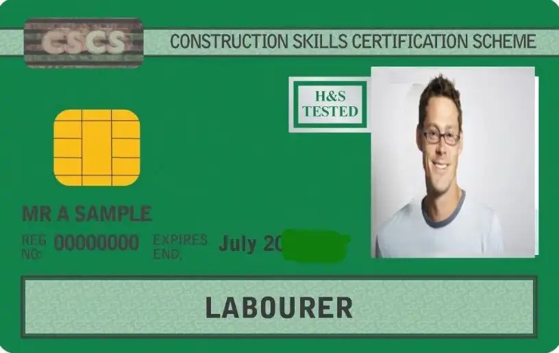 Health and Safety Course for CSCS card