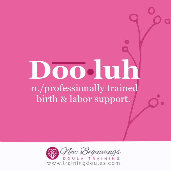Student Response: Why I Want to Become a Doula!