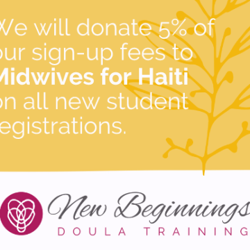 One Week Left to Register, Donate to Midwives for Haiti