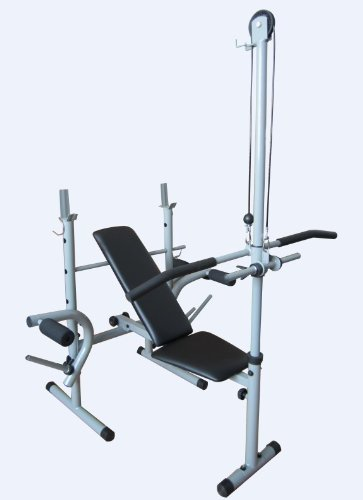 Healthline 174 Power Pro Olympic Bench Press Weight