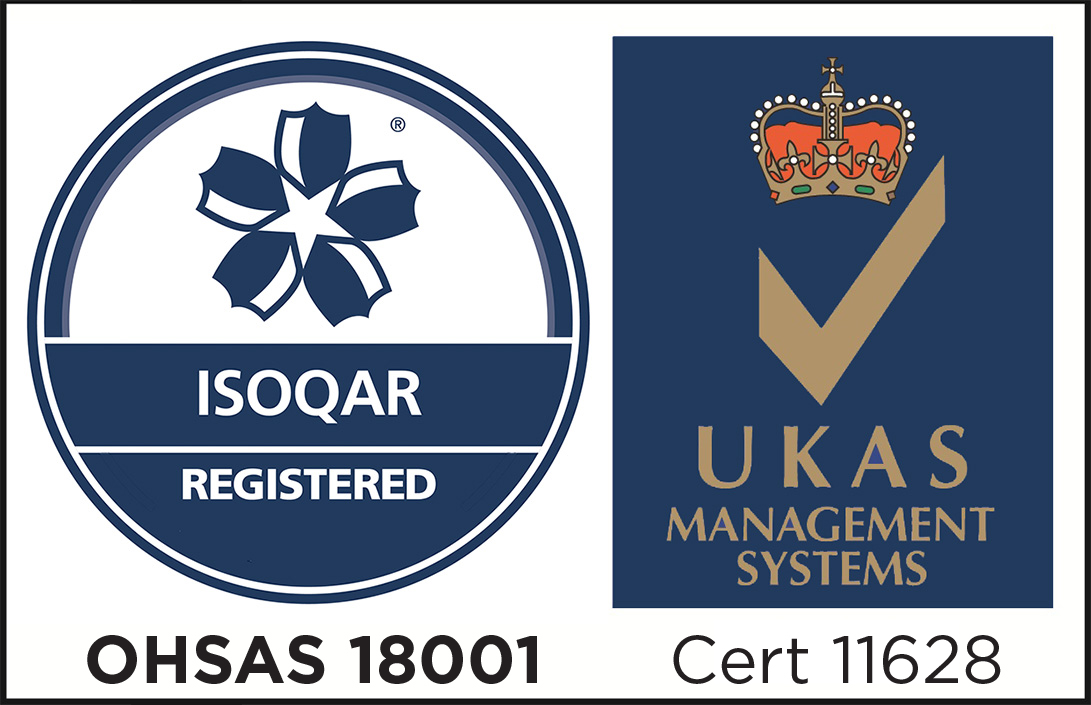 OHSAS 18001 Occupational Health and Safety Accredited