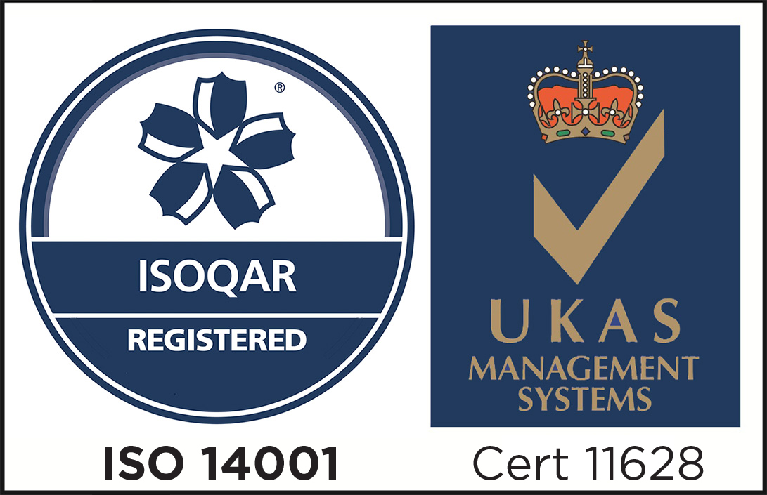 ISO 14001 Environmental Management Accredited