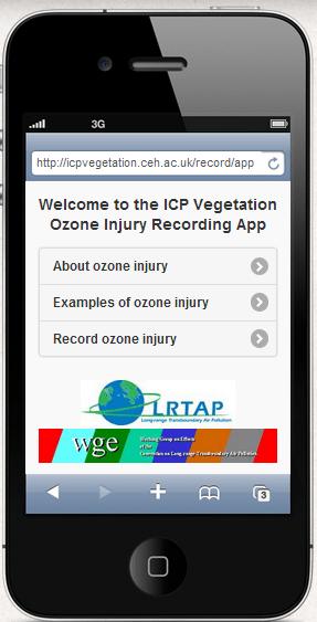 ICp ozone app