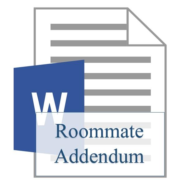 Roommate Addendum