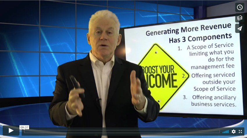 The Three Components for Generating More Revenue HINT Not about Charging More Fees
