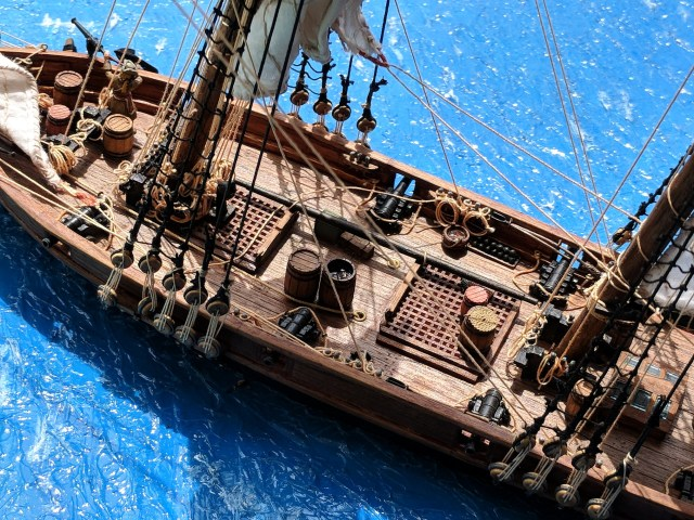 Deck of a Pirate Ship