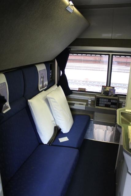 roomette vs. bedroom on amtrak. | trains & travel with jim loomis