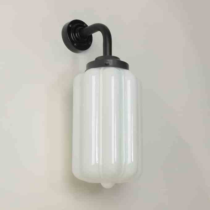 trainspotters lighting pendant opaline glass wall light deco