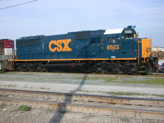 Generic CSX train