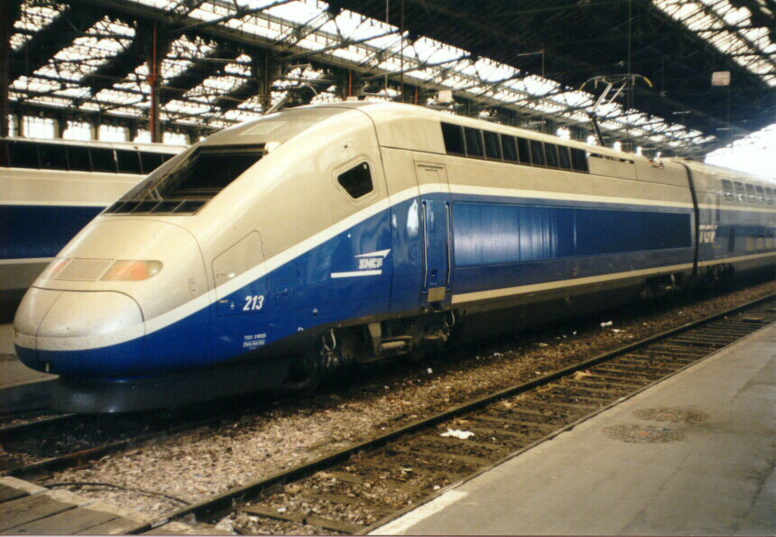 TGV da SNCF (http://www.trainweb.org)