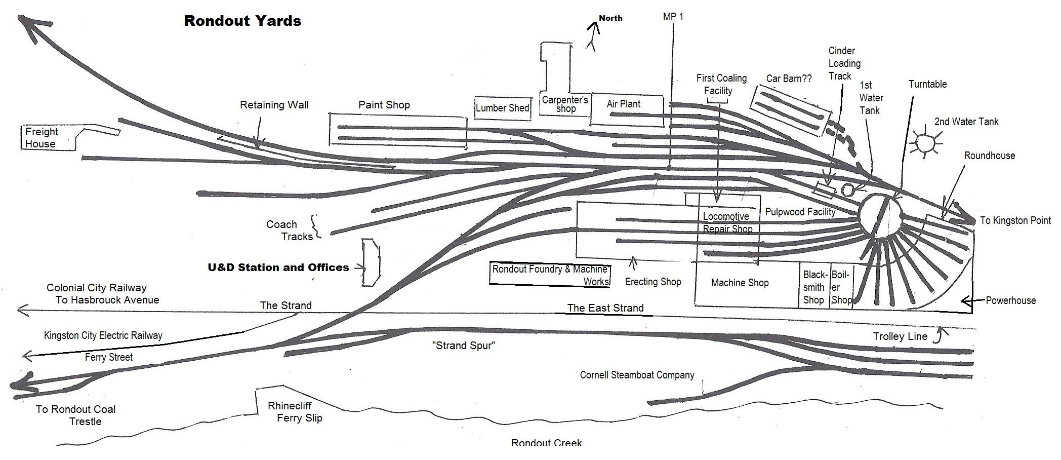 Map Drawn By Michael Kudish Page