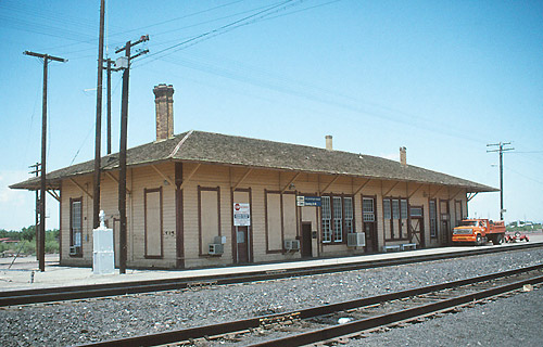 Amtrak Deming Station Platform Side August 1992