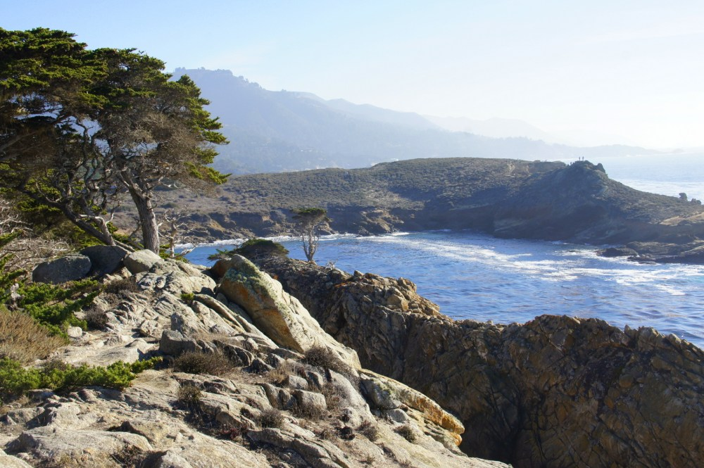 Point Lobos vista south of Monterey.