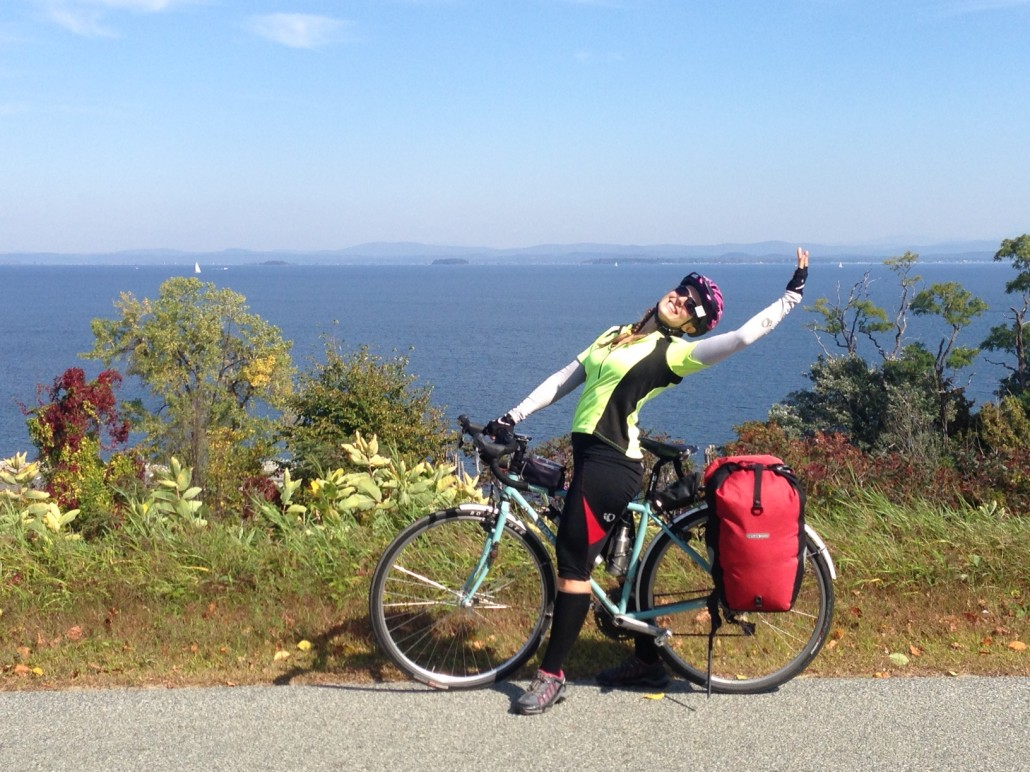 Looking across the Atlantic with a view of Spain. Waiiiit a second, that's just Lake Champlain looking at Vermont.