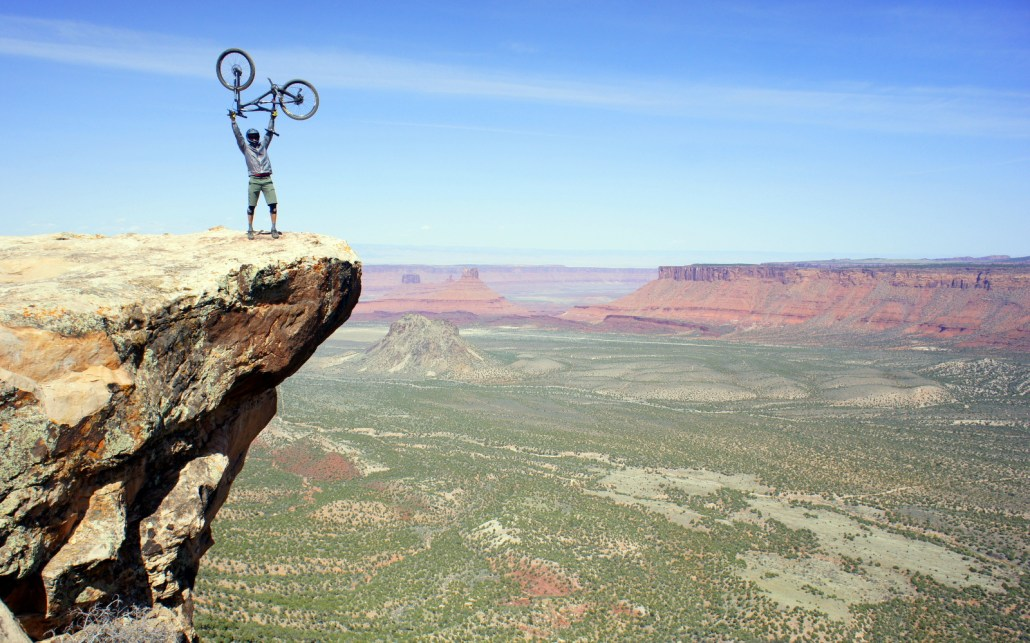 Porcupine Rim above Moab