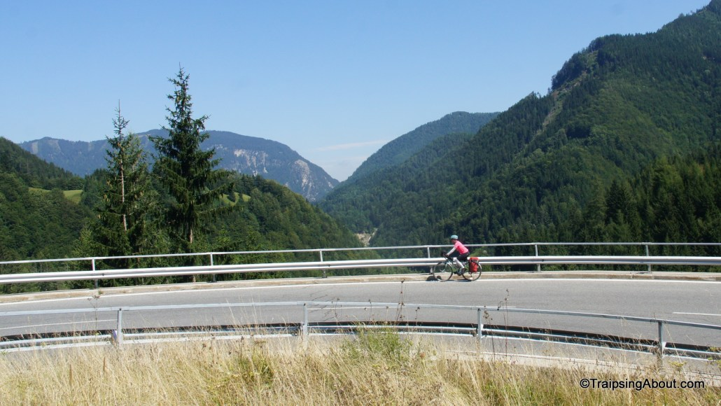 Chelsea gives a final switchback into Slovenia the what-for coming over the pass from Austria.