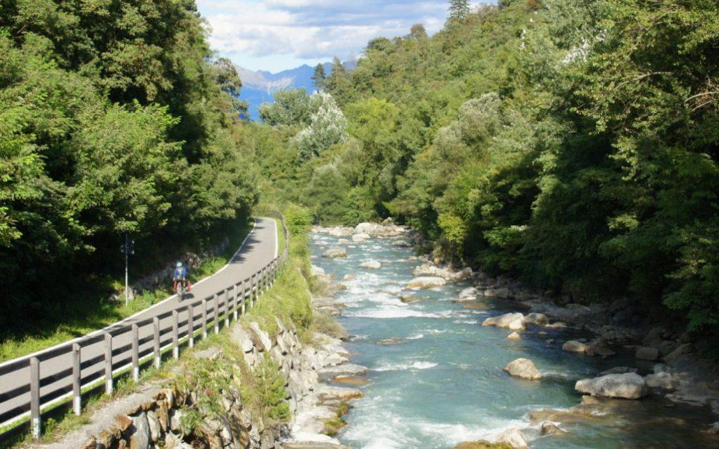 Sudtirol bike path magic