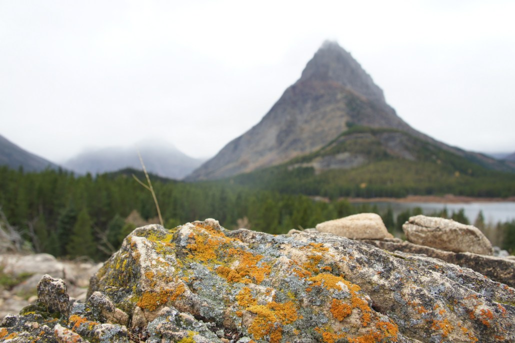 Hiking on the east side of Glacier National Park.