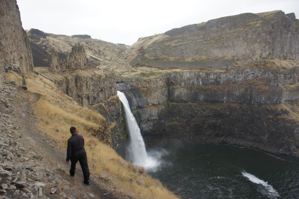 When you're done with the work, I recommend hiking someplace like Palouse Falls in Washington.