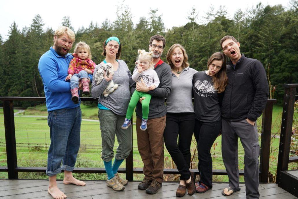 Group shot! Evan, Anna, Jamie, Ruby, Joe, Ellee, Chelsea, me