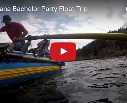 Bachelor party float
