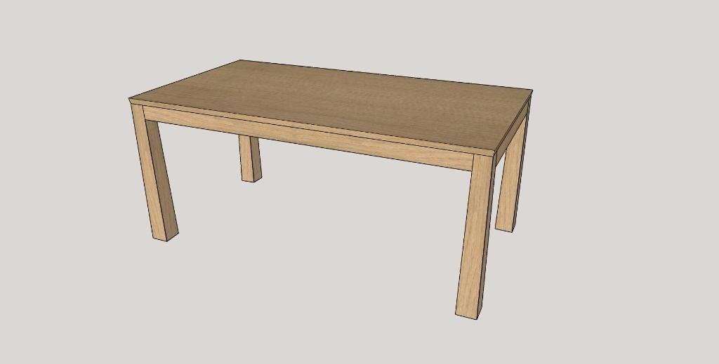 table rectangulaire en bois traiteur a paris