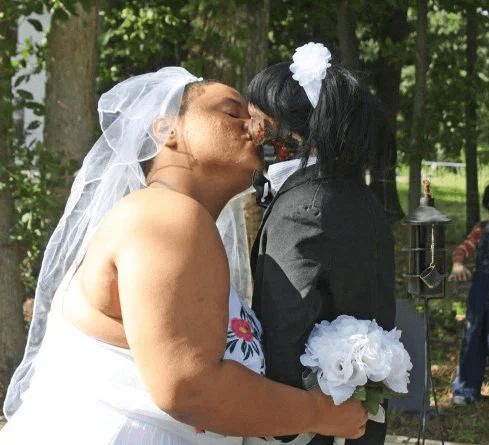 Woman gets married to her zombie doll says they've consummated their union