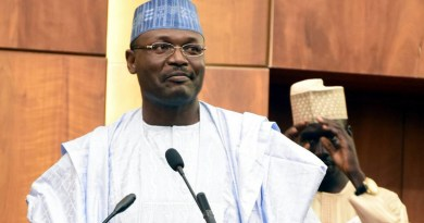 Election: INEC chairman counters President Buhari, says Ballot box snatchers should not be shot