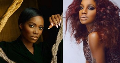Seyi Shay Sings Better Than Tiwa Savage City FM Presenter, Benny Ark claims Tiwa Savage Shouts