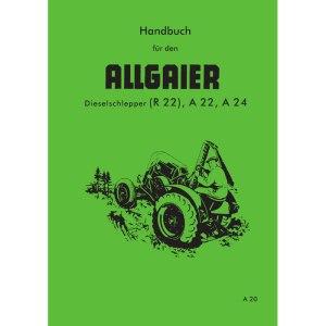 Allgaier Traktor R22 R 22 A22 A 22 A24 A 24 Handbuch Reparaturhandbuch