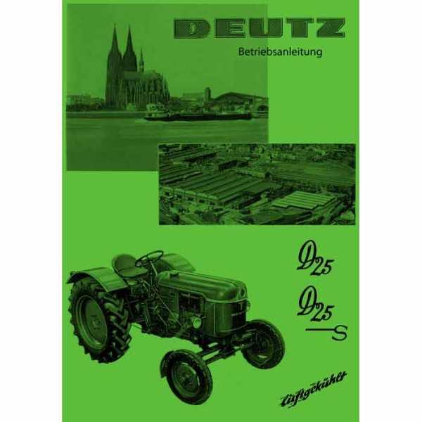 Deutz Betriebsanleitung D25