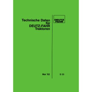 Deutz Fahr Technische Daten Traktoren