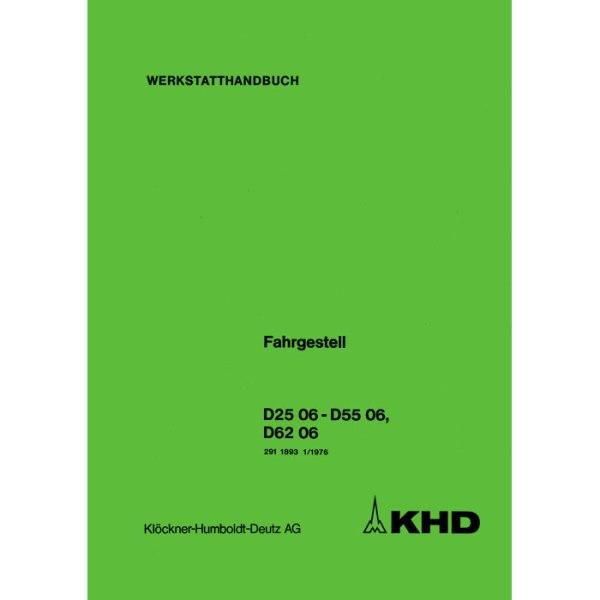 Deutz Werkstatthandbuch D2506 D5506 D6206