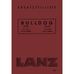 Lanz-Bulldog-Ersatzteilliste D-1706 D-2206 17-PS 22-PS