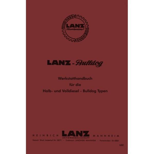 Lanz-Bulldog Ursus Werkstatthandbuch Reparaturhandbuch Halbdiesel Volldiesel D1706 D1906 D2206 D1616-D2016 D2216 D2416 D2816 D5006 D6006 D5016 D6016