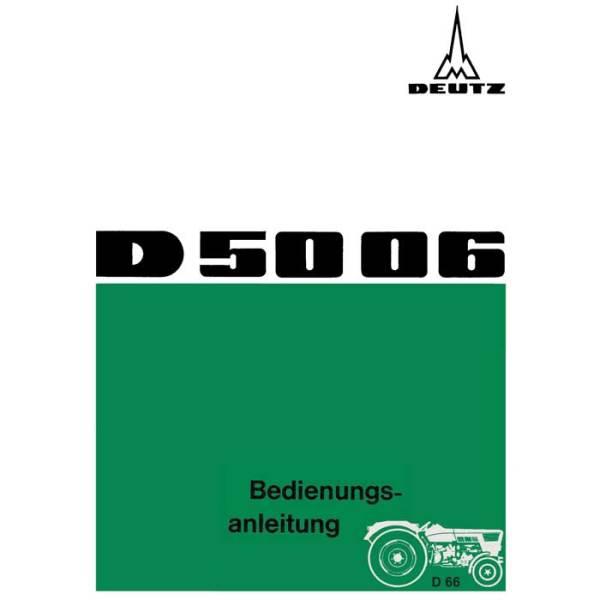 Deutz Bedienungsanleitung D5006