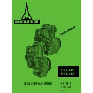 Deutz F1L410 F2L410 Bedienungsanleitung Betriebsanleitung