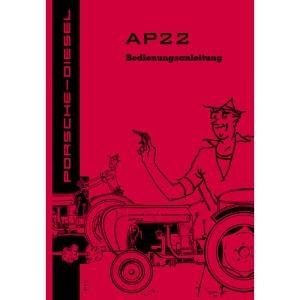Porsche-Diesel Traktor AP22 Bedienungsanleitung Betriebsanleitung