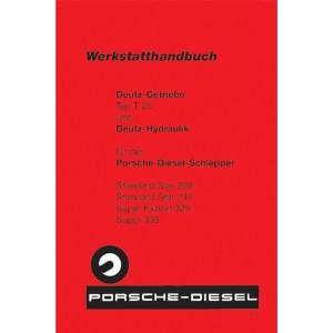 Porsche Diesel Traktoren Werkstatthandbuch Getriebe T25 Standard Star-238 Standard-Star-219 Super-Export-329 Super-339 Deutz