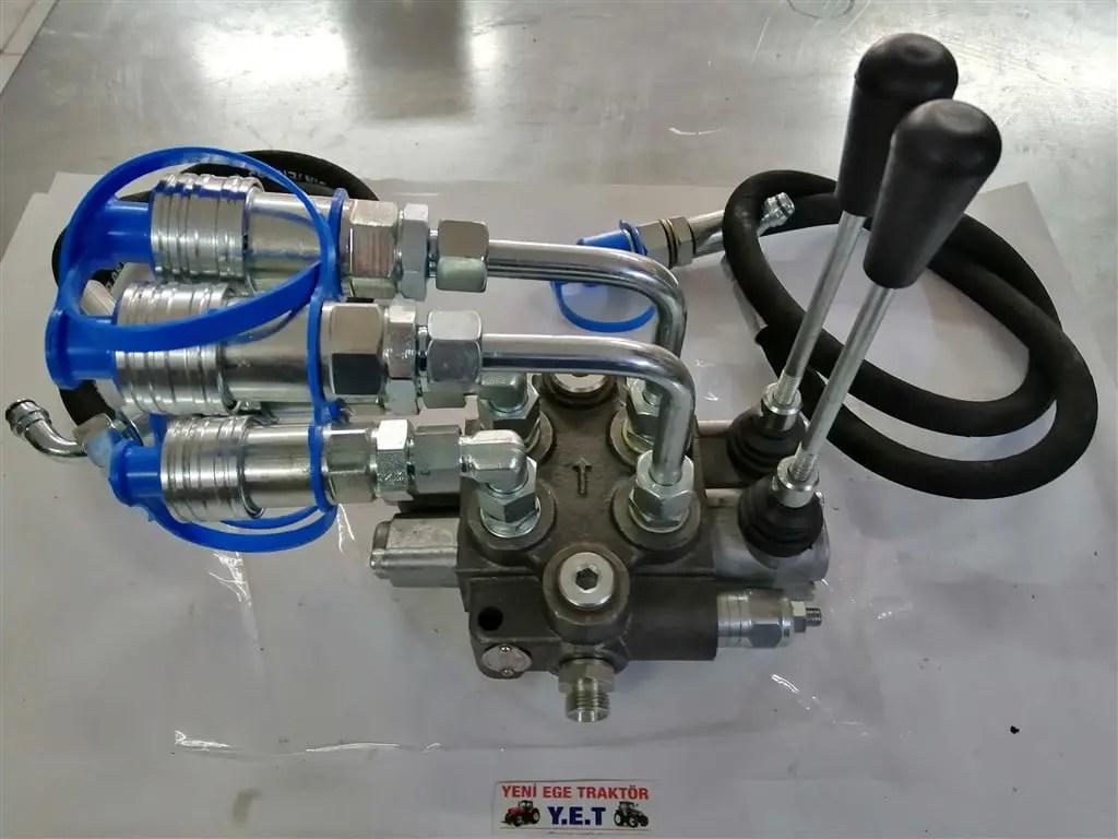 Massey Ferguson Massey Hidrolik Damper Valfi 2li 4 Cikis Komple Ahs 152tg11041 Traktor Yedek Parca