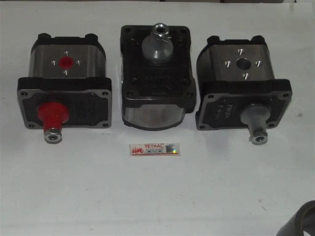 640 Hidrolik Pompasi 8280040 Ithal Traktor Yedek Parca