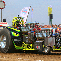Green Monster Tractor Pull