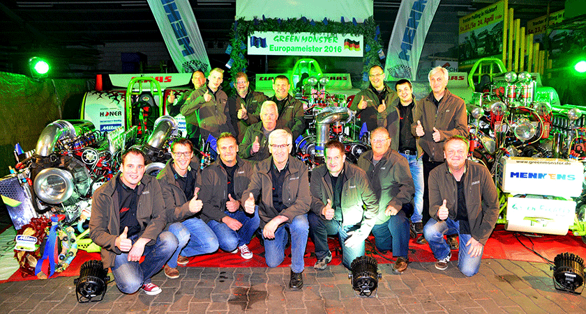Green Monster Pulling Team aus Füchtorf